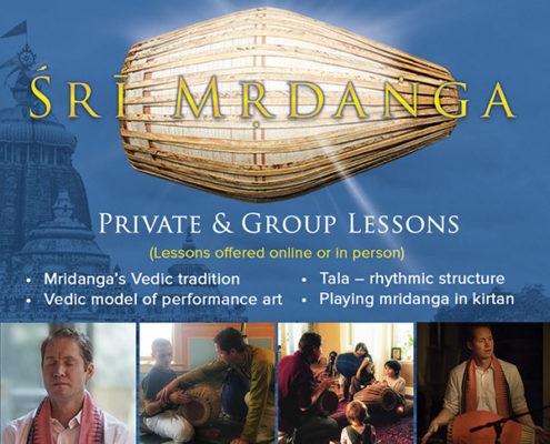 Bhima-Karma Saragrahi, Mridanga Lessons